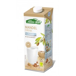 Allos -  Mandel Drink naturell - 1l