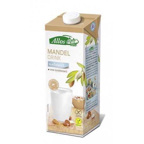 Allos - Mandel Drink naturell - 1l