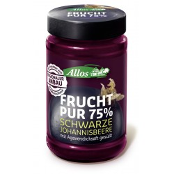 Allos fruit Pure 75% blackcurrant - 250g
