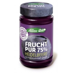 Allos - Fruit Pur À 75% de Myrtille - 250g