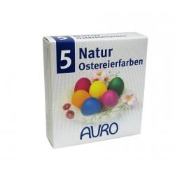 Auro - Natur-Ostereierfarben - 5 Farben