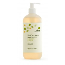 lenz - Baby wash lotion skin & hair buckthorn camomile - 500ml