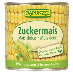 Rapunzel sweetcorn in the tin - 160g