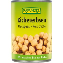 Rapunzel chickpeas in a can - 400g