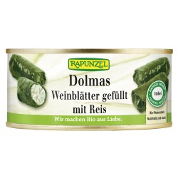 Raiponce - Dolmas feuilles de vigne farcies avec du Riz - 280g