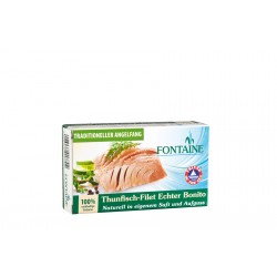Fontaine - wild salad Alaska salmon in a light organic Dressing - 200g