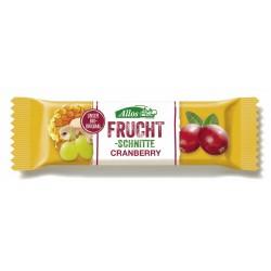 Allos - Fruchtschnitte Cranberry - 30g