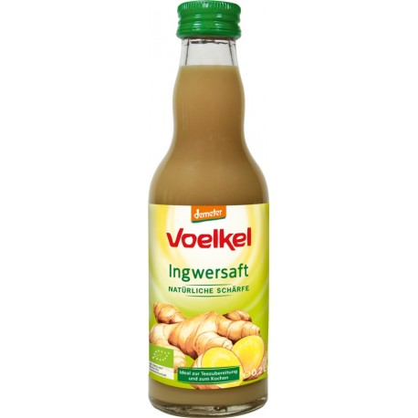 Voelkel - ginger juice - natural sharpness - 0.2 l