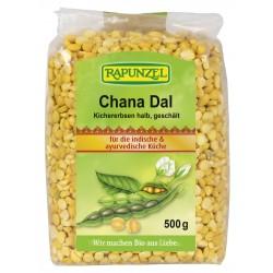Rapunzel - Chana Dal, Kichererbsen halb, geschält - 500g