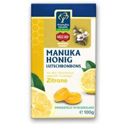 Manuka Salud De la Miel de Manuka Lutschbonbons de Limón 100g