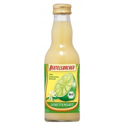 Bag Bacher - organic lime juice 0,2 l
