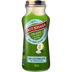 Taste Nirvana - Organic Coconut Water Pulp mit Fruchtfleisch - 280ml
