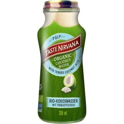 Touche le Nirvana - Organic Coconut Water Pulp avec Pulpe - 280ml