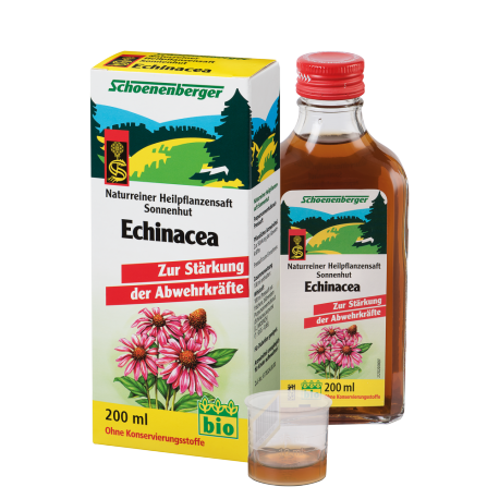 Schoenenberger Echinacea Is A Medicinal Plant Juice 200ml