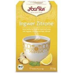Yogi Tea Gingembre Citron Bio - 17St