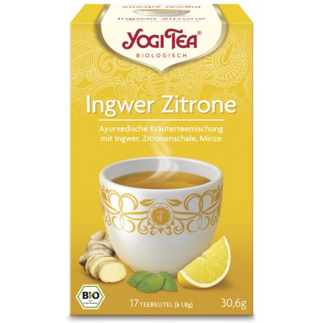 Yogi Tea - Ingwer Zitrone Bio - 17St
