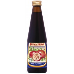 Beutelsbacher - Cranberry Muttersaft - 0,33l