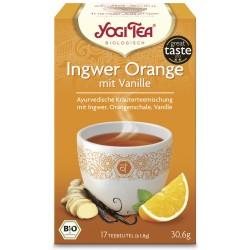 Yogi Tea di Zenzero e Arancia con crema di Vaniglia Bio - 17St