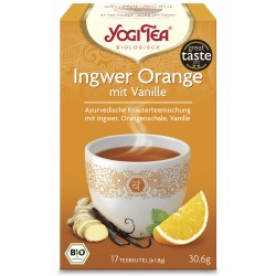 Yogi Tea - Ingwer Orange mit Vanille Bio - 17St