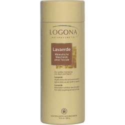 Logona - lava-earth powder, Mineral washing earth 300g