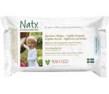 Naty - Feuchttücher Sensitiv, leicht duftend - 56 Stück