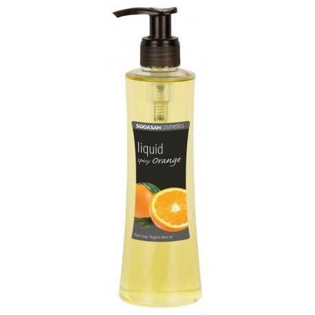 Sodasan - Pflegeseife, Liquid spicy Orange - 250ml