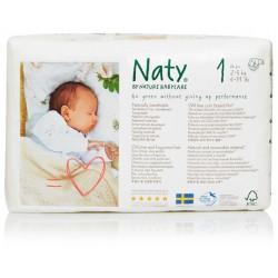 Naty - Babycare Windeln Größe 1 (2-5 kg) - 26 Stück