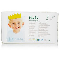 Naty - Babycare Windeln Größe 2 (3-6 kg) - 34 Stück