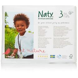 Naty - Babycare Windeln Größe 3 (4-9 kg) - 31 Stück