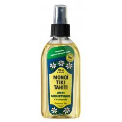 Monoï Tiki Tahiti - anti-moustiques à la Citronnelle - 120ml