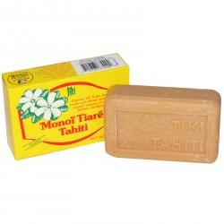 Monoï Tiki Tahiti Monoï Tiaré huile de noix de Coco du Savon 125g
