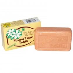 Monoï Tiki Tahiti Monoï Tiaré Sandelholzduft huile de noix de Coco du Savon de 130g
