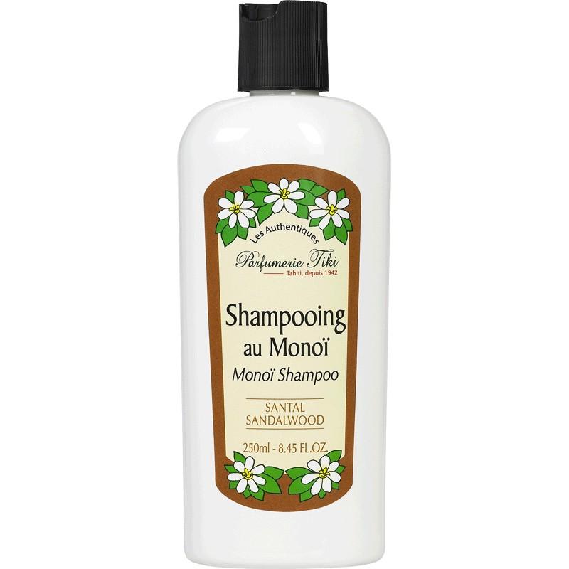 Tahiti Sandalo Legno Tiare Shampoo Tiki Monoi 250ml Di Qtshdr