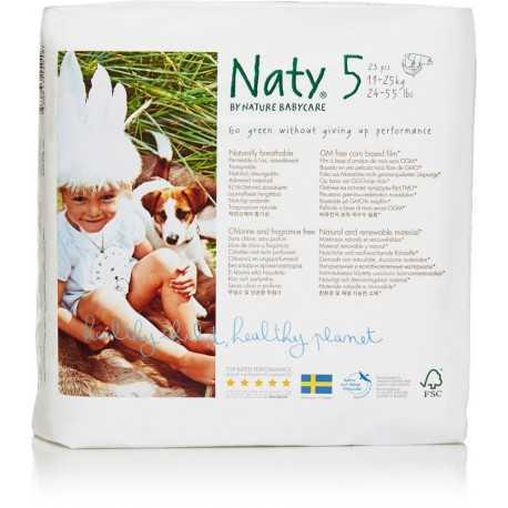 Naty - Babycare Windeln Größe 5 (11-25 kg) - 23 Stück