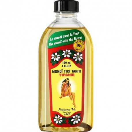 Monoi Tiki Tahiti - Körperöl mit Frangipani - 120ml