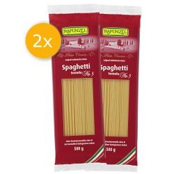 Rapunzel - 2er Pack Spaghetti Semola, no.5 - 2x 500g