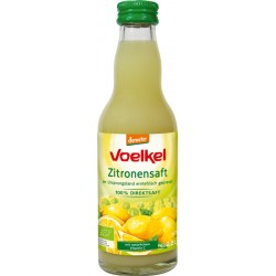 Voelkel - lemon juice - 100% juice - 0,2 l