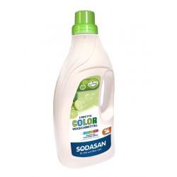 Sodasan - Color Citron vert Lessive liquide - 1,5 l