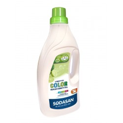 Sodasan - Color lime liquid Laundry detergent 1.5 l