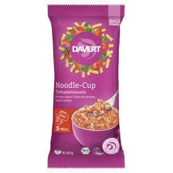 Davert - Noodle-Cup Tomatensauce - 67g