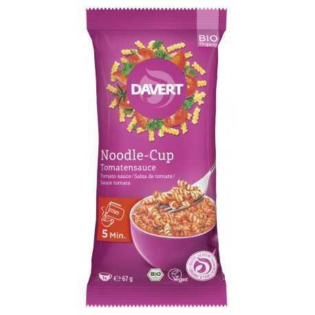 Davert - Noodle-Cup Tomatensauce - 67g