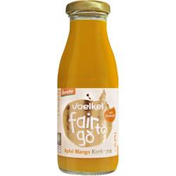 Voelkel de Fair to go, la Manzana, el Mango, la Cúrcuma - 0,25 l