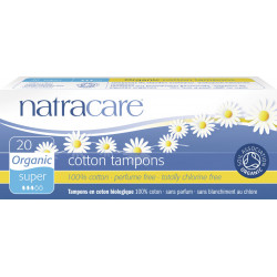 Natracare - Tampons Super - 20 Pieces