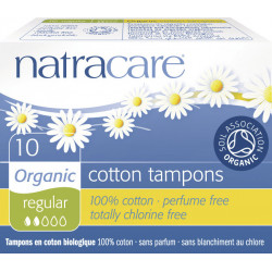 Natracare Tampons Normal - 10 Pièces