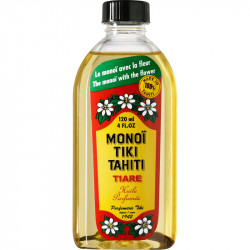 Monoi Tiki Tahiti - Tiare olio di Cocco - 120ml