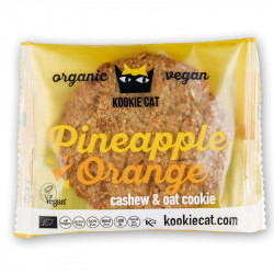 Kookie Cat Ananas e Arancia - 50 g di