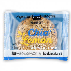 Kookie Cat, Chia, and lemon - 50g