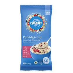 Davert - Porridge-Cup of Couscous-Cranberry 65g