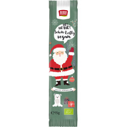 Rosengarten Vegan chocolate Lolly Santa Claus - 15g
