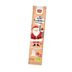 Roseraie - le chocolat Noir et le Chocolat Sucette père Noël - 15g